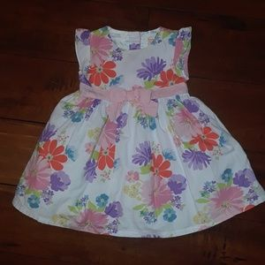 Gymboree girls Like New Floral Dress 6-12mos
